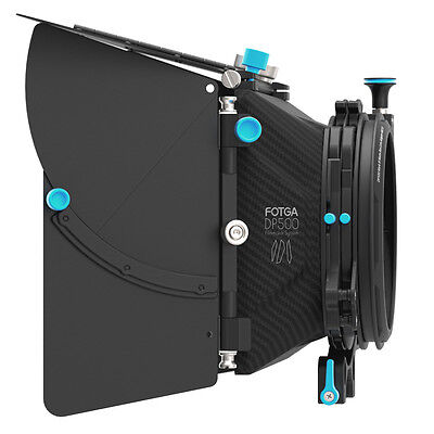 FOTGA DP500 Mark III Professional Matte Box Swing-away Sunshade Filter Tray 15mm
