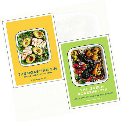 Roasting Tin and Green Roasting Tin 2 Books Collection Set Simple One Dish Dinne