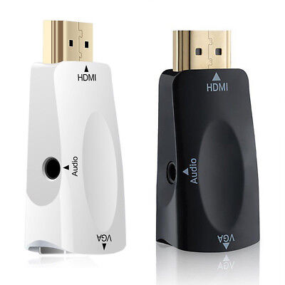 1080P HDMI Male to VGA Female Adapter Video Converter with Audio Output