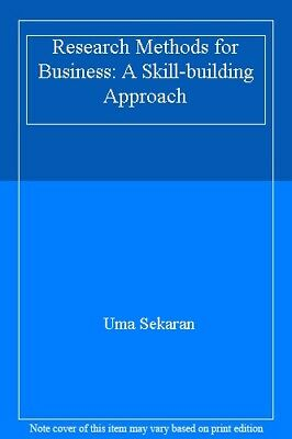 Research Methods for Business: A Skill-building Approach,Uma Sekaran