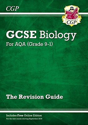New Grade 9-1 GCSE Biology: AQA Revision Guide with Online Edition,CGP Books