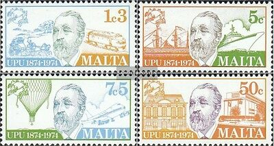 Malta 497-500 (complete issue) unmounted mint / never hinged 1974 100 years UPU
