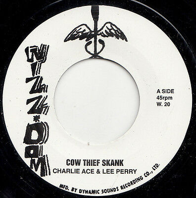 "CHARLIE ACE * Cow Thief Skank + UPSETTERS * Seven & Three Quarter Skank 7"" Neu"