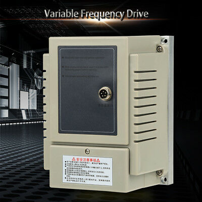 AC220V 0.75KW 4A Single Phase Variable Speed Motor Drive VFD Frequency Inverter