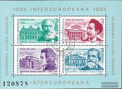 Romania block213 (complete issue) unmounted mint / never hinged 1985 INTEREUROPA