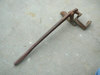 Antique Tongue Groove Flooring Clamp Cast Iron Carpenter Hand Tool