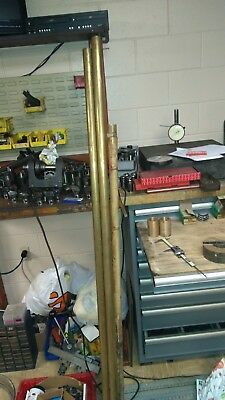 """260 Brass Tube 1 5/8"""" OD x .065"""" Wall x 1.495"""" ID SOLD BY THE FOOT 11'8"""" LEFT"""