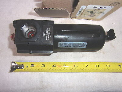 """Bridge 4245 In-Line 3/4"""" Npt Air Line Lubricator - New - Made In Mexico"""