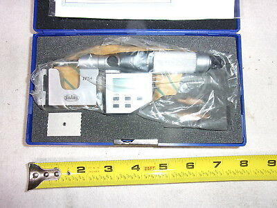 "SHARS 303-2652 4 PIECE 0-4/"" OUTSIDE MICROMETER SET NEW MADE IN CHINA"