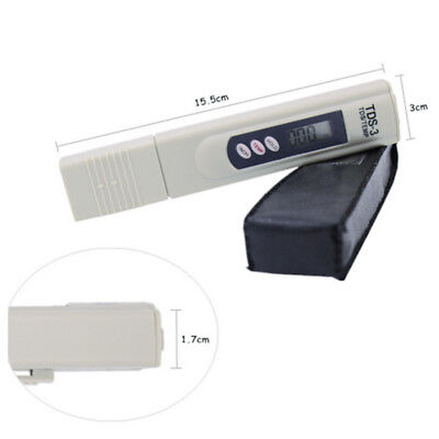 1 Digital TDS Meter Water Quality Purity Tester TEMP PPM Test Filter Pen Stick G
