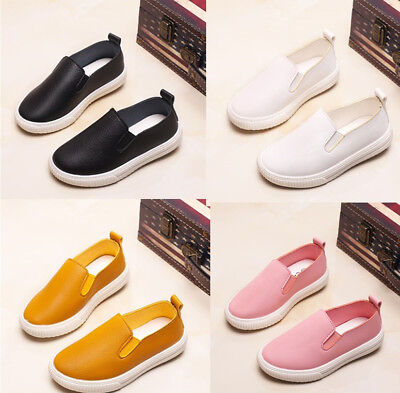 Fall Chilren Boy Girls Casual Shoes Kids Toddler Baby Single Shoes Sneakers Size