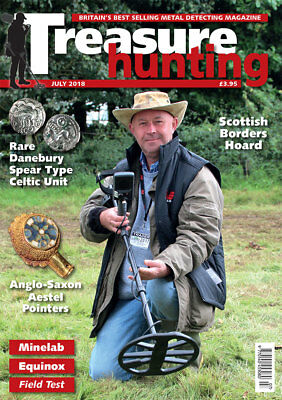 Treasure Hunting Magazine July 2018