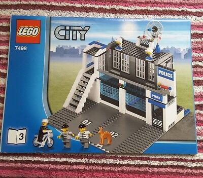 Lego 7498 Instructions Only Book 4 City 699 Picclick Uk