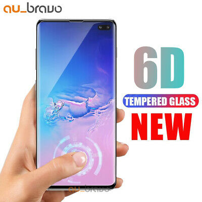 5D Samsung Galaxy S9 S8 Plus Note 8 Full Cover Tempered Glass Screen Protector