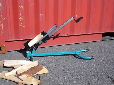 Foot Operate Spring Loaded Auto-Ratchet Wood Log Splitters (a lot of 18)