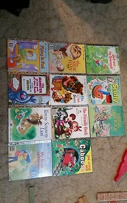 11 Little Golden Books Lot Classic Stories Tawny Scrawny The Three Bears Scuffy