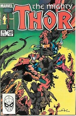 The Mighty Thor Comic Book #340 Marvel Comics 1984 NEAR MINT NEW UNREAD