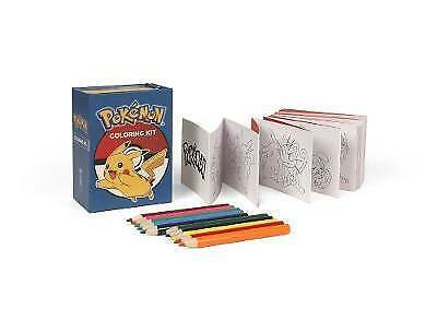 Miniature Editions: Pokemon Kit by Running Press (2017, Paperback)***NEW***