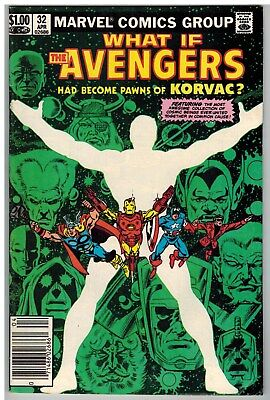 What If #32 1982 The Avengers Had Become The Pawns Of Korvac Bronze Age Giant!