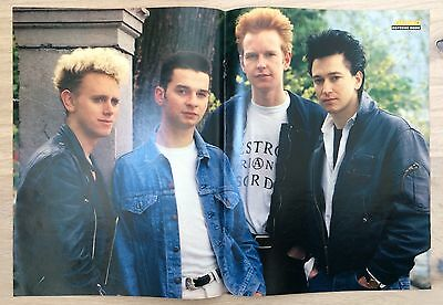 bravo poster depeche mode 80er jahre eur 9 99. Black Bedroom Furniture Sets. Home Design Ideas