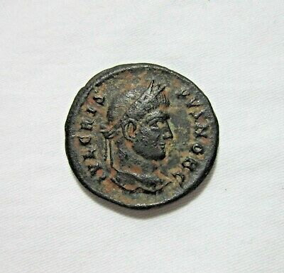 Crispus, As Caesar. Ae Follis, Siscia Mint, C. 320-321 Ad. Wreath Reverse. Rare