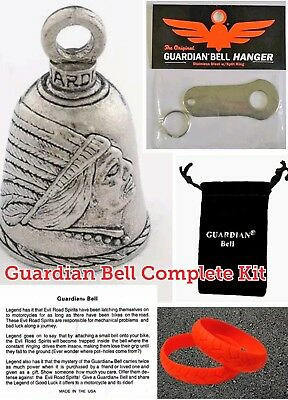 VINTAGE 57 CHEVY GUARDIAN BIKER BELL WITH HANGER