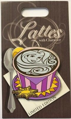 Disneyland 2018 Tangled RAPUNZEL Lattes with Character LE Disney Pin of Month