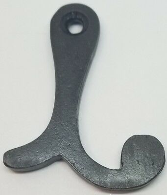 Cast Iron Window Stop Stay Holder fix antique vintage old stand open block prop