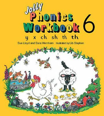 (Very Good)-Jolly Phonics Workbook: y, x, ch, sh, th (Paperback)-Susan M. Lloyd,