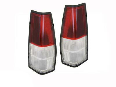 Tail Lights Ford Falcon XD XE XF XG XH Ute & Panel Van Clear Altezza Set