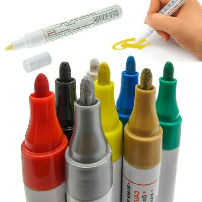 1/5/8/12 Tire Permanent Paint Marker Pen Car Rubber Glass Waterproof Oil Based
