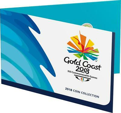 2018 Gold Coast Australian Commonwealth Games 7 Coin Set - Free Postage!