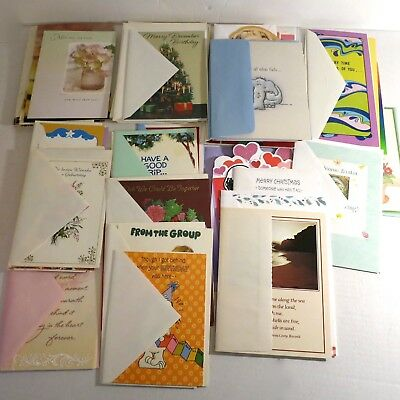 Lot 75+ Mixed Greeting Cards New Unused