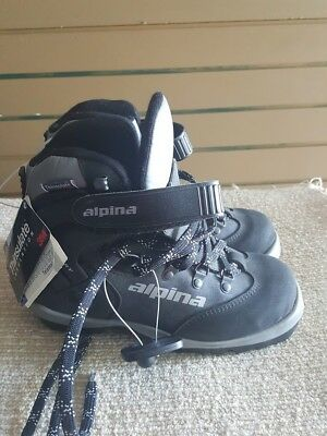 ALPINA BACKCOUNTRY SKI Boots Cross Country BC EU Size Black - Alpina backcountry ski boots