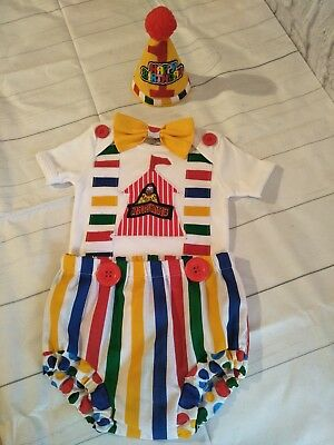 Cake Smash Carnival Circus   Baby Boy Outfit   Photo First 1St  Birthday Prop