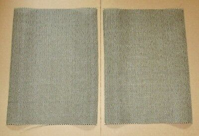 "New Speaker Fabric Grill Cloth ""Cane"" for Klipsch Heresy Speakers PAIR!"