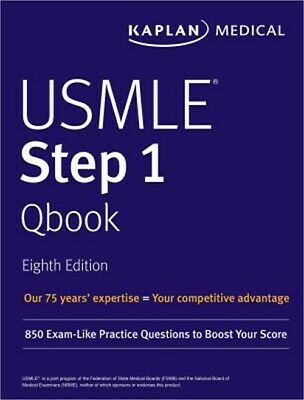 USMLE Step 1 Qbook: 850 Exam-Like Practice Questions to Boost Your Score (Paperb