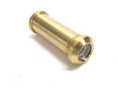 NEW! TAYMOR 160 DEGREE SOLID BRASS DOOR PEEP HOLE VIEWER, No. 37-B4841B