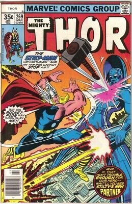The Mighty Thor Comic Book #269 Marvel Comics 1978 VERY FINE