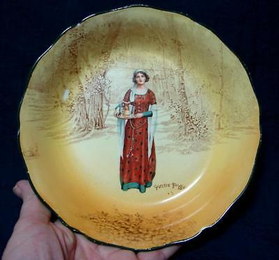 Royal Doulton Anne Page Shakespeare Series Bowl c. 1922