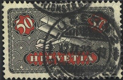 Switzerland 184x ordinary Paper, Color black with hinge 1923 Airmail