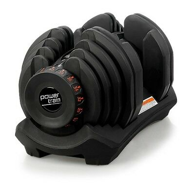 1x Powertrain Adjustable Dumbbell - 40kg