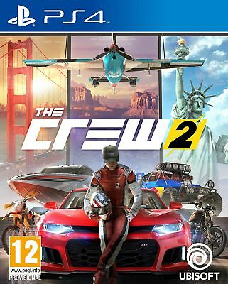 The Crew 2 PS4 ***PRE-ORDER ITEM*** Release Date: 29/06/18
