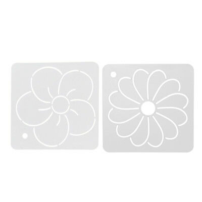 2pcs Square Acrylic Quilt Template Stencils for Embroidery Patchwork Sewing