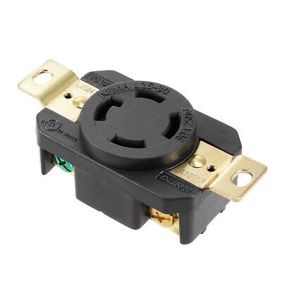 L15-30 Generator Locking Receptacle - 30A 250V, 3P 4W US Plug YUADON Authorized