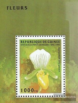 Guinea Block497 (complete.issue.) unmounted mint / never hinged 1995 Flowers