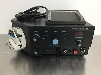 Microvasive Boston Scientific Endostat II Electrosurgical Unit w/ Footswitch