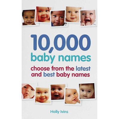 10000 Baby Names by Holly Iwins (Paperback), Books, Brand New