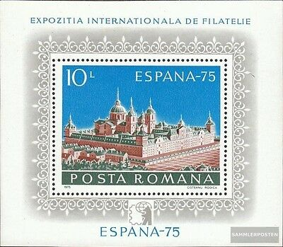 Romania block119 (complete issue) used 1975 Stamp Exhibition