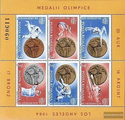 Romania block210 (complete.issue.) unmounted mint / never hinged 1984 Romanian m